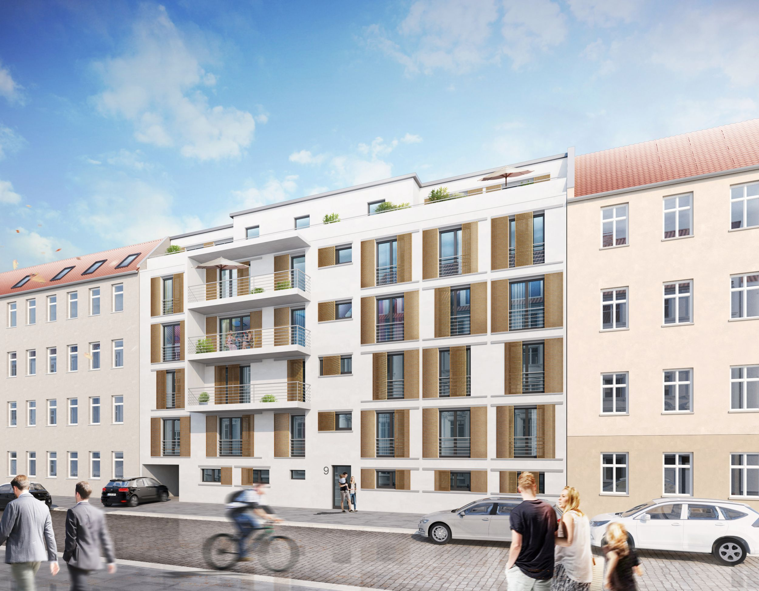Neubau Köpenick - Pohlestraße nahe der Köpenicker Altstadt - Berlin